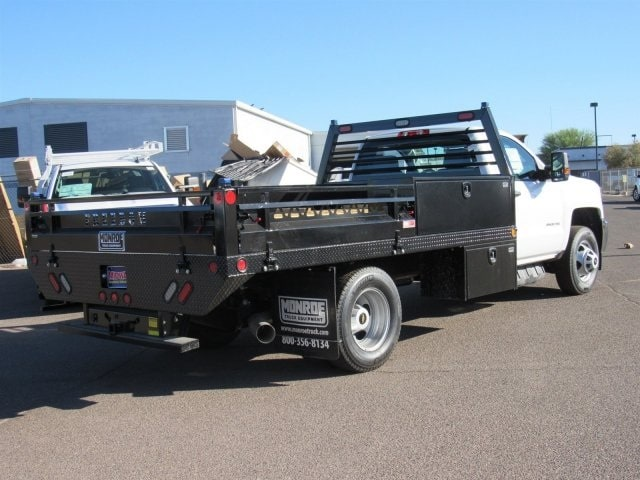 2018 Silverado 3500 Regular Cab DRW 4x2,  Freedom Contractor Body #JF233024 - photo 3