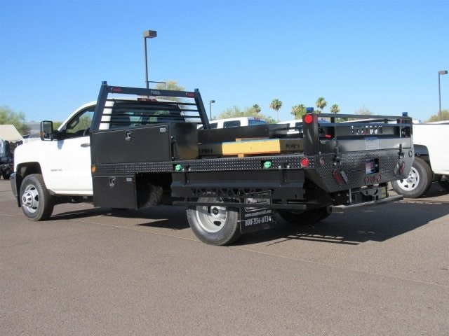 2018 Silverado 3500 Regular Cab DRW 4x2,  Freedom Contractor Body #JF233024 - photo 2