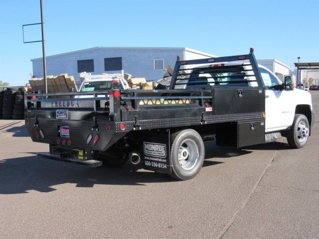 2018 Silverado 3500 Regular Cab DRW 4x2,  Freedom Contractor Body #JF247282 - photo 3