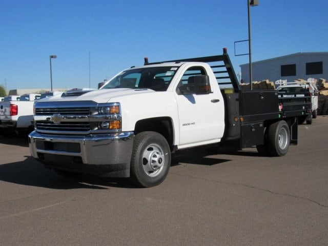2018 Silverado 3500 Regular Cab DRW 4x2,  Freedom ProContractor Body #JF247282 - photo 1