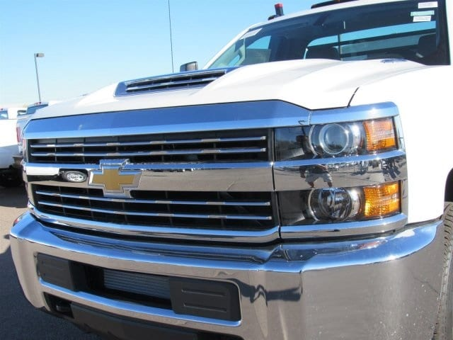 2018 Silverado 3500 Regular Cab DRW 4x2,  Freedom Contractor Body #JF247282 - photo 6