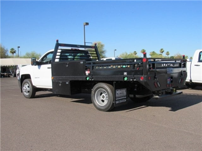 2018 Silverado 3500 Regular Cab DRW 4x2,  Freedom ProContractor Body #JF247282 - photo 2