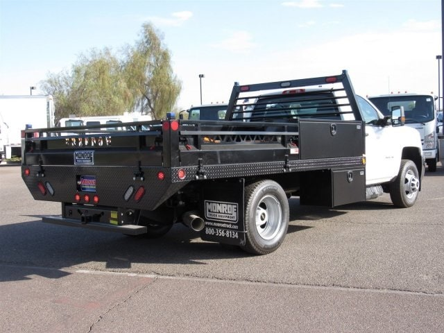 2018 Silverado 3500 Regular Cab DRW 4x2,  Freedom Contractor Body #JF250288 - photo 3