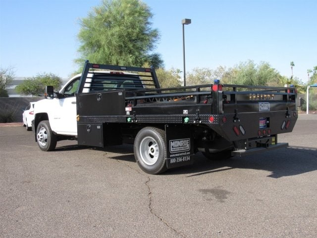 2018 Silverado 3500 Regular Cab DRW 4x2,  Freedom Contractor Body #JF250288 - photo 2