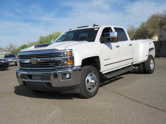 2018 Silverado 3500 Crew Cab 4x4,  Pickup #JF271801 - photo 1