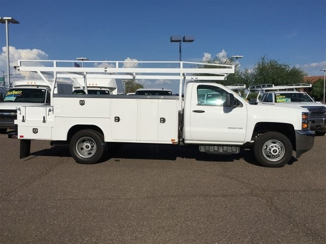 2018 Silverado 3500 Regular Cab DRW 4x2,  Harbor Combo Body #JF275600 - photo 3