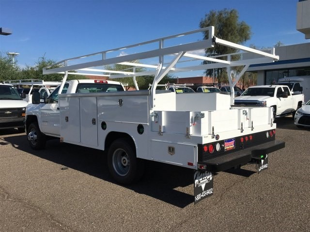 2018 Silverado 3500 Regular Cab DRW 4x2,  Harbor Combo Body #JF275600 - photo 2