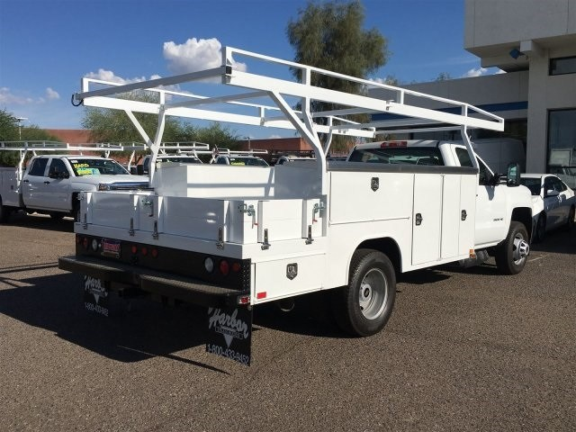 2018 Silverado 3500 Regular Cab DRW 4x2,  Harbor Combo Body #JF278803 - photo 4
