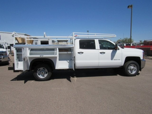 2018 Silverado 2500 Crew Cab 4x2,  Monroe Service Body #JF282647 - photo 3