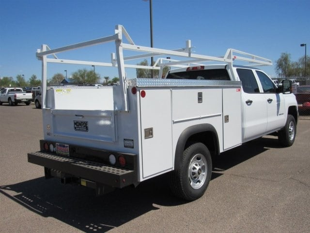 2018 Silverado 2500 Crew Cab 4x2,  Monroe Service Body #JF282647 - photo 4