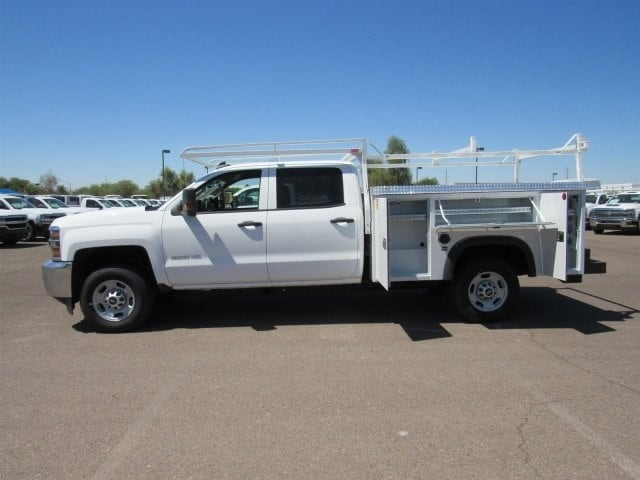 2018 Silverado 2500 Crew Cab 4x2,  Monroe Service Body #JF282647 - photo 6