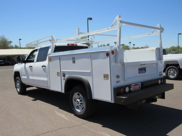 2018 Silverado 2500 Crew Cab 4x2,  Monroe Service Body #JF282647 - photo 2