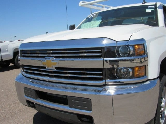 2018 Silverado 2500 Crew Cab 4x2,  Monroe Service Body #JF282647 - photo 8