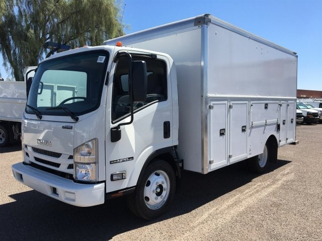 2018 NPR-HD Regular Cab,  Service Utility Van #JS803670 - photo 1