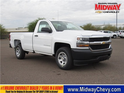 2018 Silverado 1500 Regular Cab Pickup #JZ169517 - photo 1