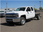 2018 Silverado 2500 Double Cab, Cab Chassis #JZ305283 - photo 1
