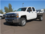 2018 Silverado 2500 Double Cab 4x2,  Cab Chassis #JZ306964 - photo 1