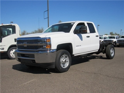2018 Silverado 2500 Double Cab,  Cab Chassis #JZ323630 - photo 1