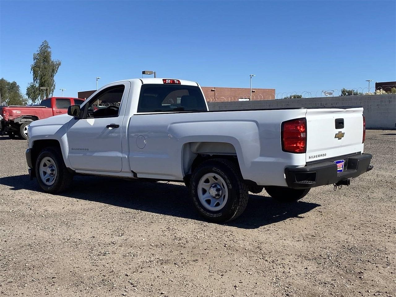 2018 Silverado 1500 Regular Cab 4x2,  Pickup #JZ343300 - photo 2