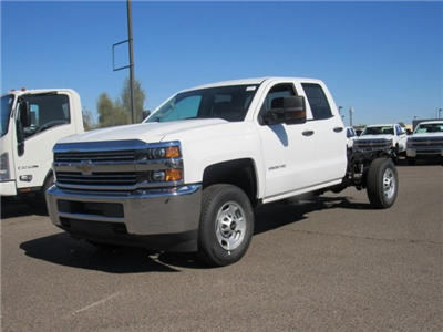 2018 Silverado 2500 Double Cab 4x2,  Cab Chassis #JZ344940 - photo 1