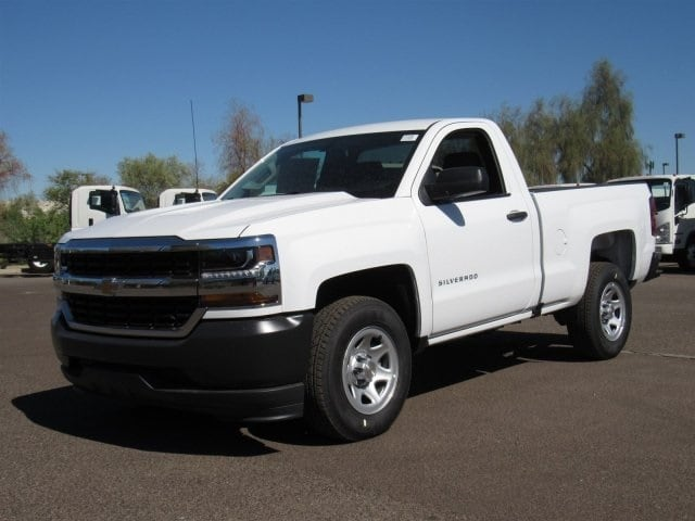 2018 Silverado 1500 Regular Cab 4x2,  Pickup #JZ346502 - photo 1