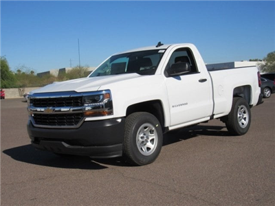 2018 Silverado 1500 Regular Cab 4x2,  Pickup #JZ347918 - photo 1