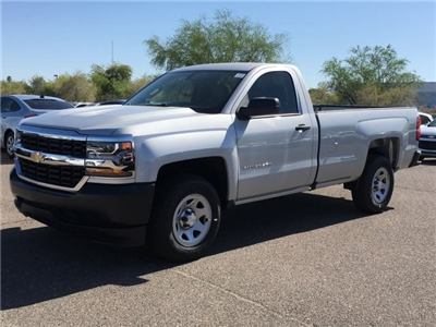 2018 Silverado 1500 Regular Cab 4x2,  Pickup #JZ372843 - photo 6