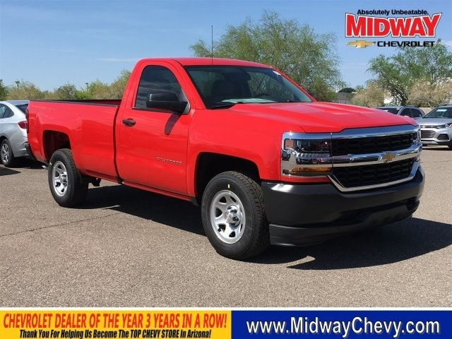 2018 Silverado 1500 Regular Cab 4x2,  Pickup #JZ375488 - photo 1