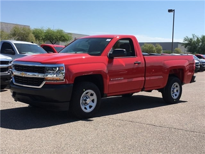 2018 Silverado 1500 Regular Cab 4x2,  Pickup #JZ375488 - photo 6