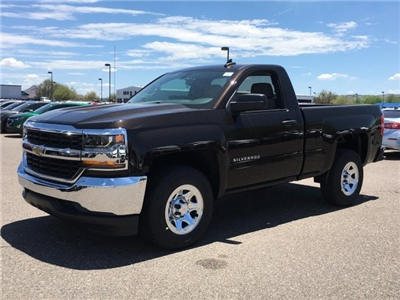 2018 Silverado 1500 Regular Cab 4x2,  Pickup #JZ376625 - photo 1