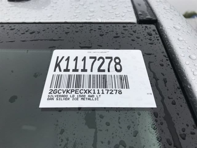 2019 Silverado 1500 Double Cab 4x4,  Pickup #K1117278 - photo 11