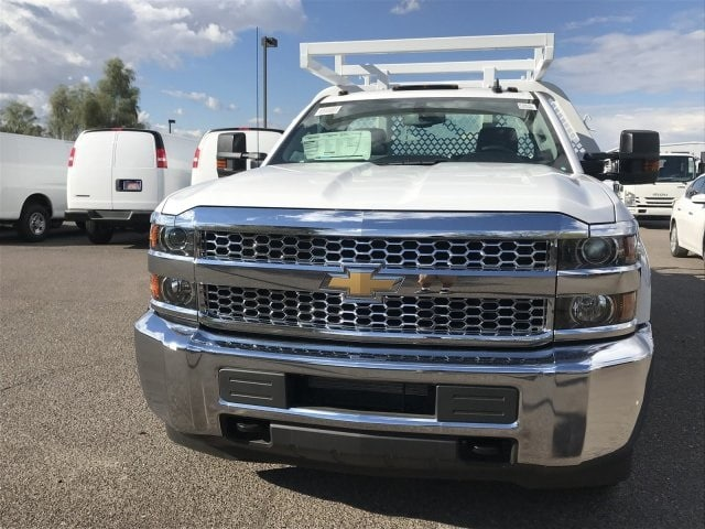 2019 Silverado 3500 Regular Cab DRW 4x2,  Royal Contractor Body #KF120173 - photo 5