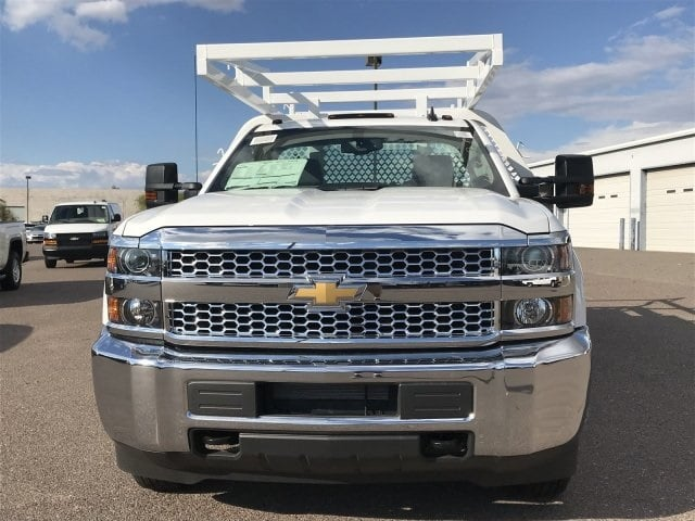 2019 Silverado 3500 Regular Cab DRW 4x2,  Royal Contractor Body #KF122407 - photo 4