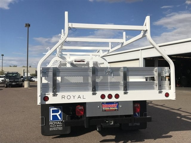 2019 Silverado 3500 Regular Cab DRW 4x2,  Royal Contractor Body #KF122407 - photo 5