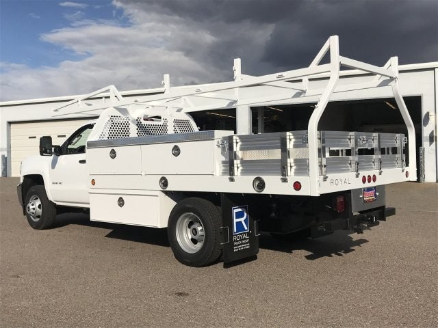 2019 Silverado 3500 Regular Cab DRW 4x2,  Royal Contractor Body #KF122407 - photo 2