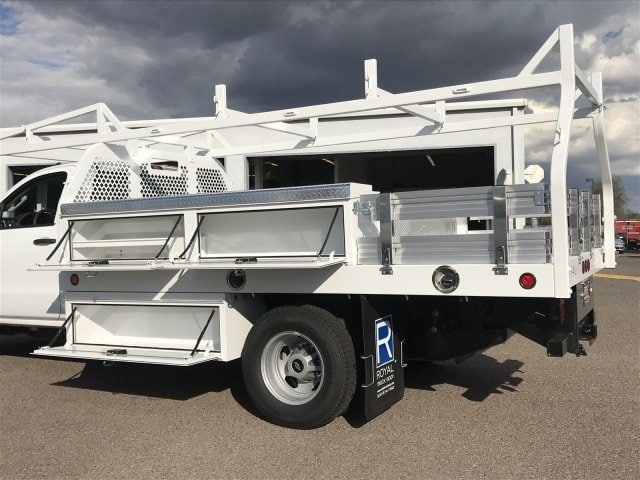 2019 Silverado 3500 Regular Cab DRW 4x2,  Royal Contractor Body #KF122407 - photo 6