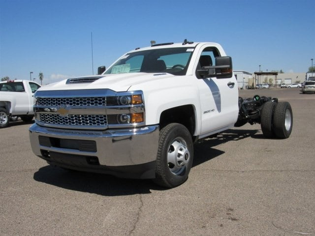 2019 Silverado 3500 Regular Cab DRW 4x2,  Cab Chassis #KF124457 - photo 1