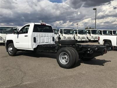 2019 Silverado 3500 Regular Cab DRW 4x2,  Cab Chassis #KF144242 - photo 2