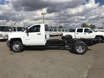 2019 Silverado 3500 Regular Cab DRW 4x2,  Cab Chassis #KF144242 - photo 7