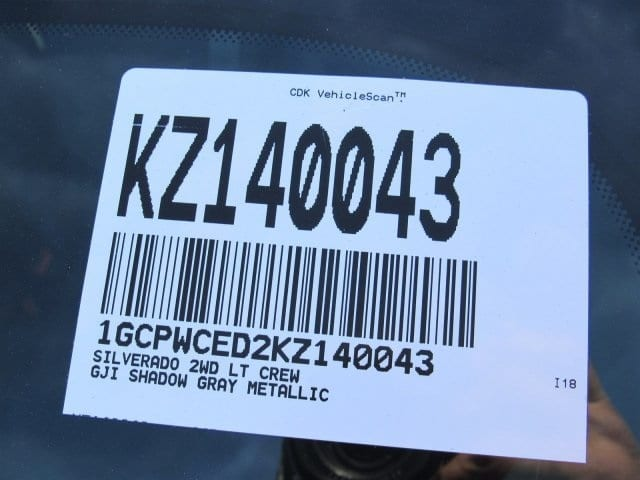 2019 Silverado 1500 Crew Cab 4x2,  Pickup #KZ140043 - photo 11