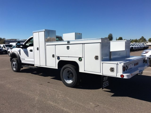 2017 F-550 Regular Cab DRW, Scelzi Service Body #HEB38075 - photo 4