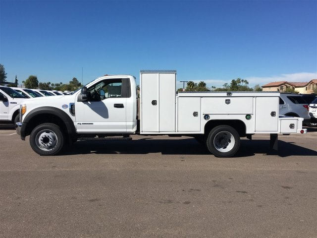 2017 F-550 Regular Cab DRW, Scelzi Service Body #HEB38076 - photo 3