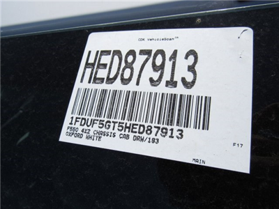 2017 F-550 Regular Cab DRW, Cab Chassis #HED87913 - photo 14