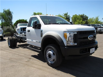 2017 F-550 Regular Cab DRW, Cab Chassis #HED87913 - photo 1