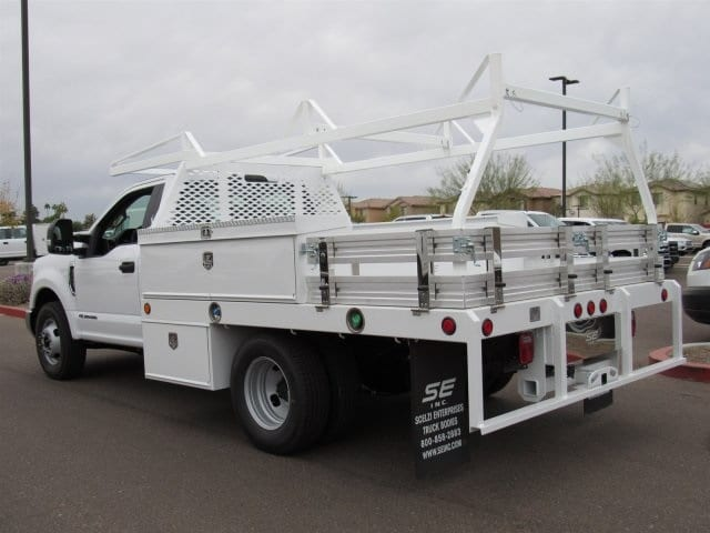 2017 F-350 Regular Cab DRW, Scelzi Contractor Flatbed Contractor Body #HEF23912 - photo 4