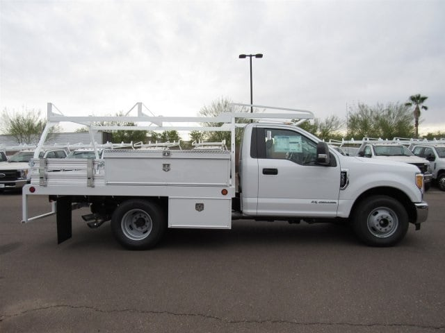 2017 F-350 Regular Cab DRW, Scelzi Contractor Flatbed Contractor Body #HEF23912 - photo 6