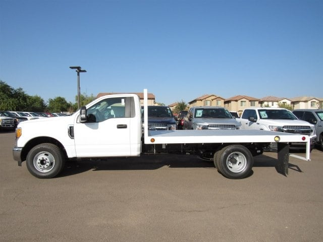 2017 F-350 Regular Cab DRW, Scelzi Western Flatbed Platform Body #HEF40813 - photo 3