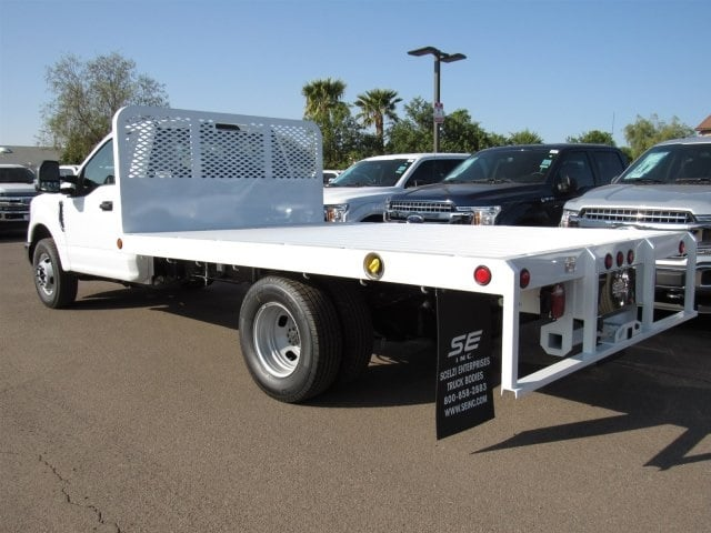 2017 F-350 Regular Cab DRW, Scelzi Western Flatbed Platform Body #HEF40813 - photo 4