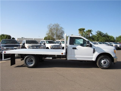 2017 F-350 Regular Cab DRW, Scelzi Western Flatbed Platform Body #HEF40813 - photo 5
