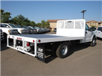 2017 F-350 Regular Cab DRW, Scelzi Western Flatbed Platform Body #HEF40813 - photo 2